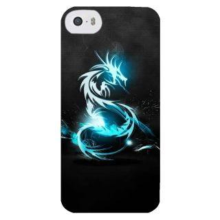 Stubborne Dragoon Multicolor 3D Printed Apple Iphone 5C Back Cover / Case