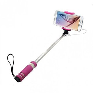 Jiyanshi Mini Selfie Stick (Pocket) Compatible with Micromax A100