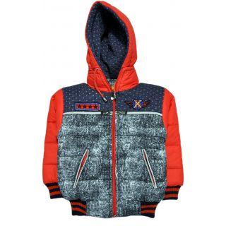 Kangaroo Kids Boys Casual Full Sleeve Padded Jacket