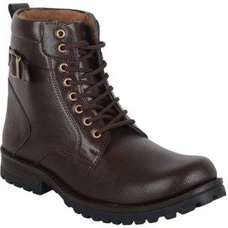 Austrich Brown Desert High Ankel Length Boot