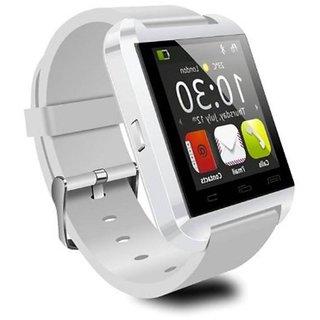 Jiyanshi Bluetooth Smart Watch with Apps like Facebook , Twitter , Whats app ,etc for Panasonic Eluga S Mini