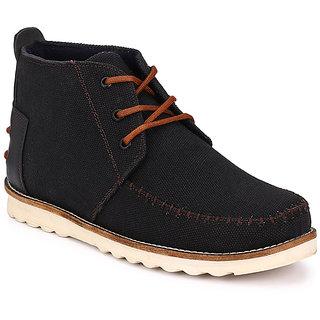 Wonker Black MenS Boots