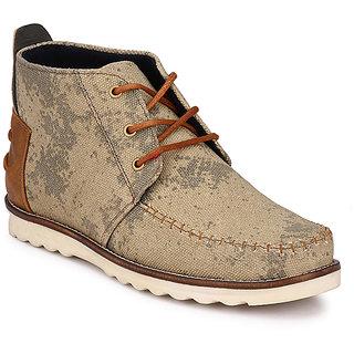 Wonker Beige MenS Boots