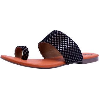 Sammy Women's Black Open Sandals