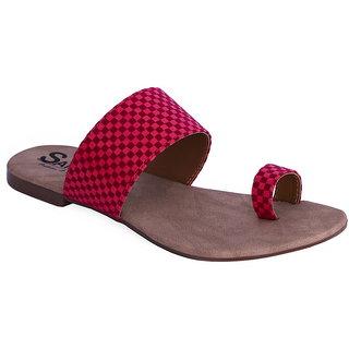 Sammy Women's Pink Open Sandals