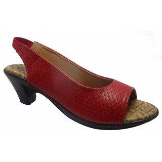 Sammy Women's Brown Velcro Sandals