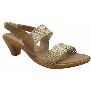 Sammy Women's Beige Velcro Sandals