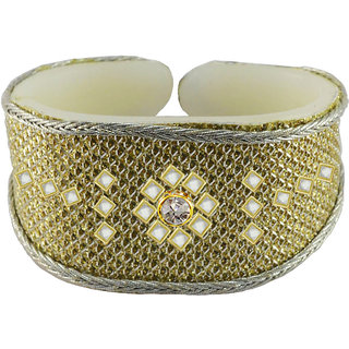 Vidhya kangan Gold Non Plated Bracelets  For Women