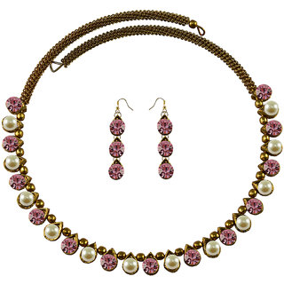 Vidhya Kangan Multicolor Necklace Set For Women-nec2101