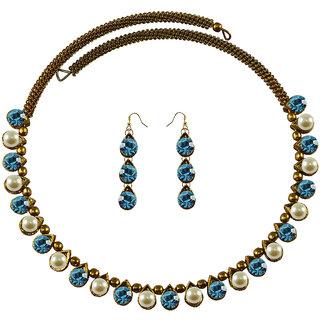 Vidhya Kangan Multicolor Necklace Set For Women-nec2103