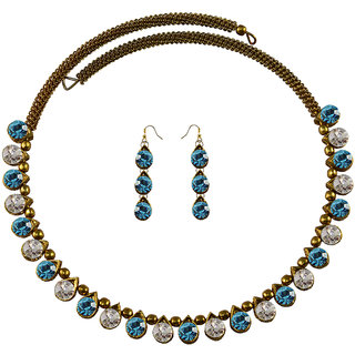 Vidhya Kangan Multicolor Necklace Set For Women-nec2104