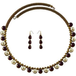 Vidhya Kangan Multicolor Necklace Set For Women-nec2105