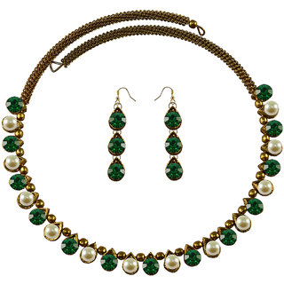 Vidhya Kangan Multicolor Necklace Set For Women-nec2107