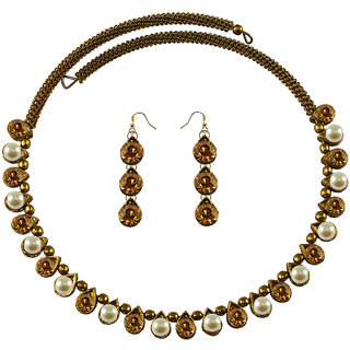 Vidhya Kangan Multicolor Necklace Set For Women-nec2111