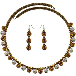 Vidhya Kangan Multicolor Necklace Set For Women-nec2112