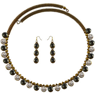 Vidhya Kangan Multicolor Necklace Set For Women-nec2114