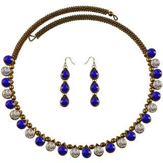 Vidhya Kangan Multicolor Necklace Set For Women-nec2117