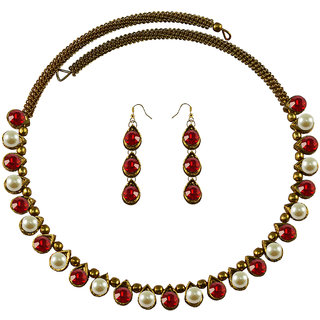 Vidhya Kangan Multicolor Necklace Set For Women-nec2122