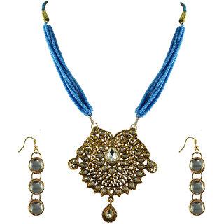 Vidhya Kangan Gold Necklace Set For Women-nec2150