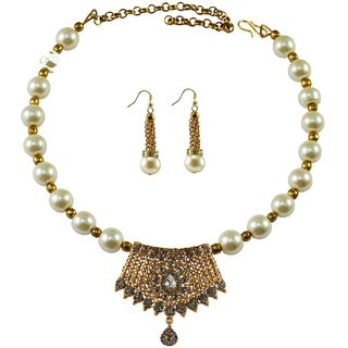 Vidhya Kangan Multicolor Necklace Set For Women-nec2379