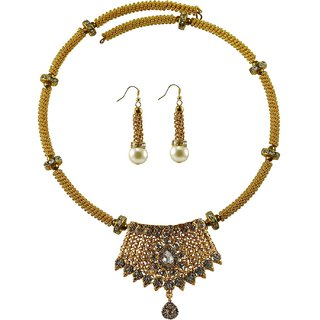 Vidhya Kangan Multicolor Necklace Set For Women-nec2381