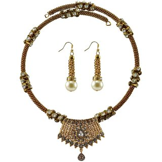Vidhya Kangan Multicolor Necklace Set For Women-nec2384