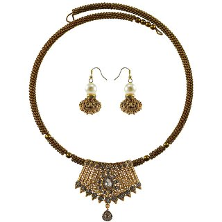 Vidhya Kangan Multicolor Necklace Set For Women-nec2385