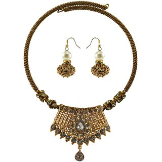 Vidhya Kangan Multicolor Necklace Set For Women-nec2387