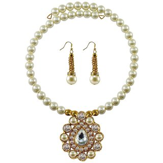 Vidhya Kangan Multicolor Necklace Set For Women-nec1837