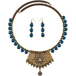 Vidhya Kangan Multicolor Necklace Set For Women-nec2391