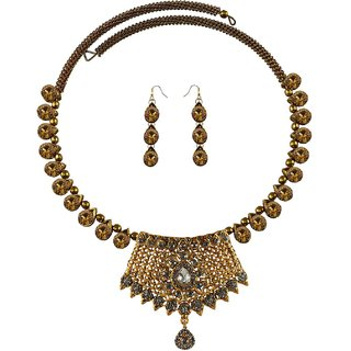 Vidhya Kangan Multicolor Necklace Set For Women-nec2392