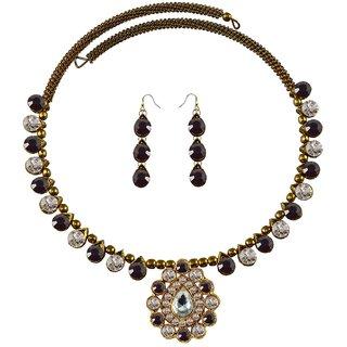 Vidhya Kangan Multicolor Necklace Set For Women-nec1923