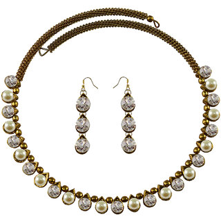 Vidhya Kangan Multicolor Necklace Set For Women-nec2088