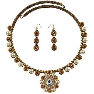 Vidhya Kangan Multicolor Necklace Set For Women-nec1934