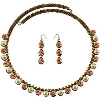 Vidhya Kangan Multicolor Necklace Set For Women-nec2095