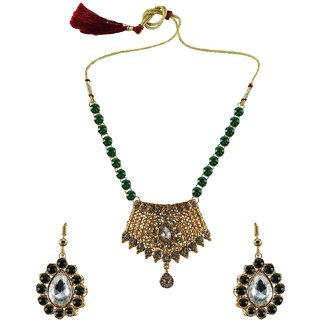 Vidhya Kangan Multicolor Necklace Set For Women-nec2569