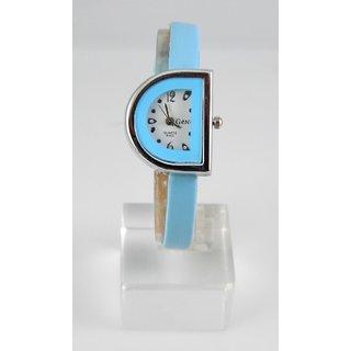Fancy Womens Party Wear Leather Wrist Watch-lw0089
