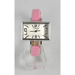 Fancy Womens Party Wear Leather Wrist Watch-lw0027