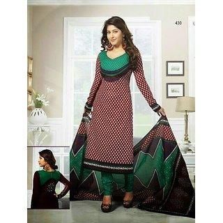 Shree Ganesh Cotton Printed Designer Suit Salwar Kameez Dress Material