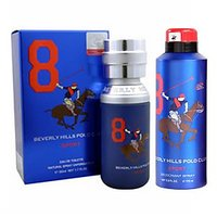 Beverly Hills Polo Club Sport No 8 Men Edt 50 Ml & No 8 Deodorant Men 175 Ml