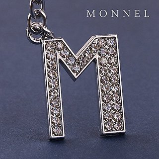 Z293-C2 Cute New Hot Sale Cute Crystal Letter
