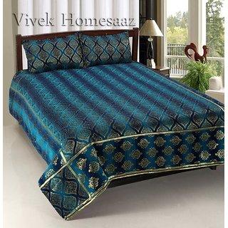 Vivek Homesaaz Chenille Luxury Bed Cover