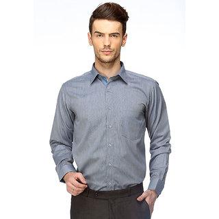 Cairon Sassy Blue Chambray Executive Formal Shirt