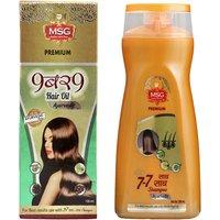 MSG Ayurvedic combo ( 9 - 9 Hair Oil + 7 - 7 Shampoo )