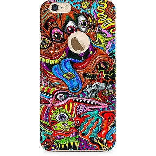 Zenith Surreal Colorful Physchedelic Premium Printed Mobile cover For Apple iPhone 6/6s with hole