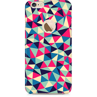 Zenith Colorful Triangles Premium Printed Mobile cover For Apple iPhone 6/6s with hole