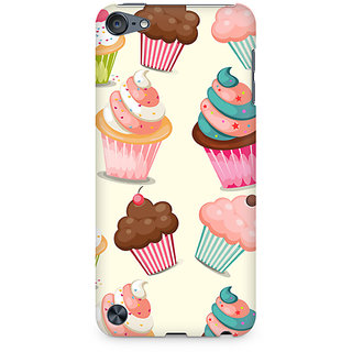 Zenith Cute Cupcakes Premium Printed Mobile cover For Apple iPod Touch 6