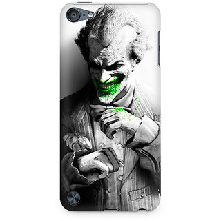 Zenith Arkham City Joker Premium Printed Mobile cover For Apple iPod Touch 5