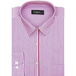 Cairon Dashing Pink Dobby Smart Formal Shirt