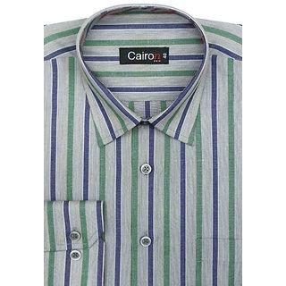 Cairon Dap Blue Stripe Executive Formal Shirt